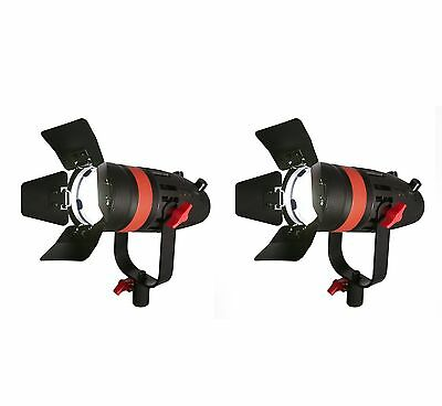 2 Pcs - Boltzen 55w Fresnel Focusable LED - Daylight