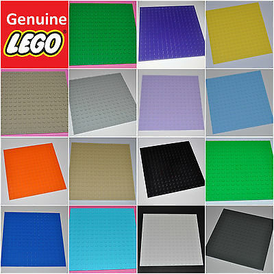 GENUINE LEGO PARTS - 16x16 STUDS BUILDING PLATE/BASE BOARD/BASEPLATE/MAT 91405