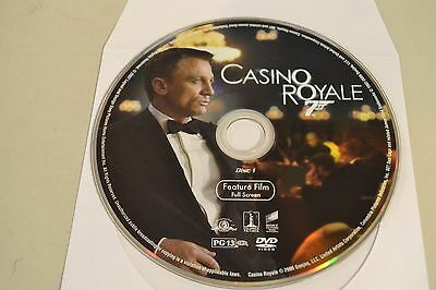 Casino Royale (DVD, 2007, 1-Disc , Full Frame)Disc Only Free Shipping 10-304