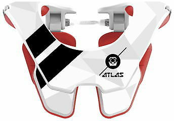 Atlas Technologies Tyke Youth Neck Brace White Flight AT2-00-000 72-1032