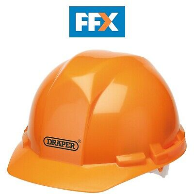 Draper 65705 Orange Safety Helmet to EN397