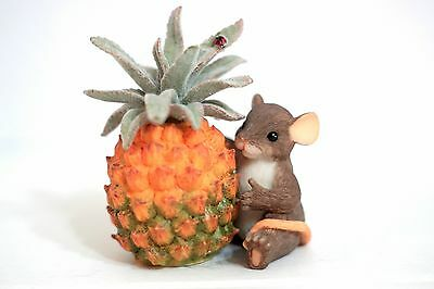 Charming Tails 89/173 You're Sweet To The Core - mouse pineapple