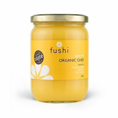 Fushi Ghee Clarified Organic Grass Fed Butter 300ml Rich In Omega 3 & 9