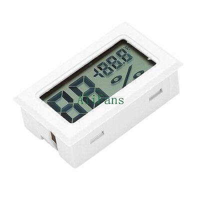 Digital LCD Indoor Temperature Humidity Meter Thermometer Hygrometer Alarm Clock