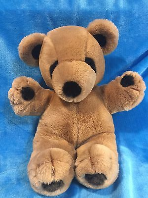 "Vintage Gund 1979 Brown Bear Stitch 17"" Stuffed Animal Plush Excellent Cond"