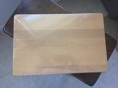 Longaberger Woodcrafts Shelf for Wrought Iron 5 Level Stand Rack Warm Brown NEW