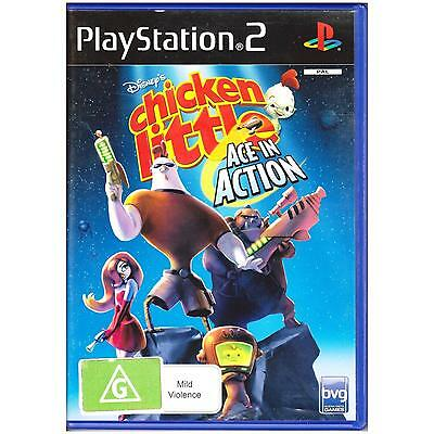 Playstation 2 Chicken Little Ace In Action Disneys Pal Ps2 [Uvg] Your Games Pal
