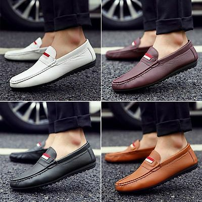 Mens Driving Moccasin Loafer Slip On Shoes Casual Comfy Fashion Shoes US6.5-9.0
