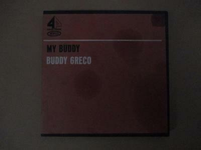 Reel-to-reel tape, Buddy Greco, My Buddy, 4 track stereo, vintage