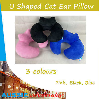 U Shaped Rebound Neck Support Headrest Soft Car Flight Travel Pillow
