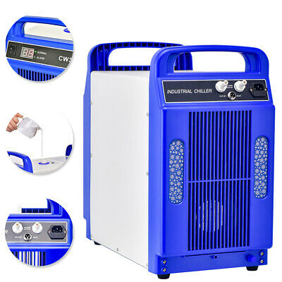 110V Thermolysis Industrial Water Chiller for 60/80W CO2 Glass Tube
