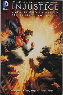 Injustice Gods Among Us Year One Complete Collection trade paperback DC Comics