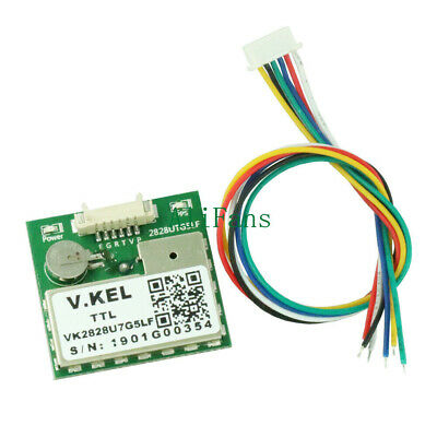 GPS Module VK2828U7G5LF GPRS Antenna TTL 1-10Hz with FLASH Flight Control Model