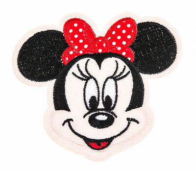 MINNY MOUSE VER.2 Craft Embroidered Patch Sew Iron-On Patch D.I.Y. New