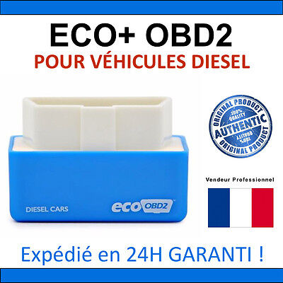 Eco OBD2 Economy Chip Tuning Box Diesel Blue Power Fuel Optimization Device