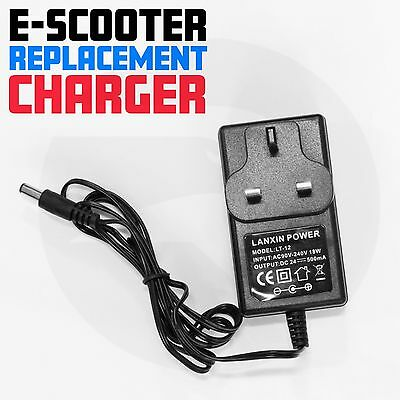 Electric Scooter Charger Fits Most Of E Scooters AC 100-240V~50HZ DC 28.8V-500mA