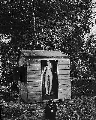 Helmut Newton Sumo Photo 50x70 Domestic Nude IX The Redhead VII In a playhouse