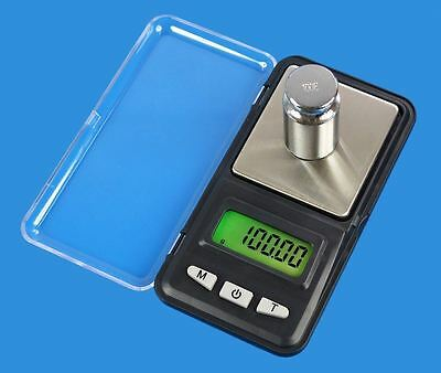 Digital LCD Scale Electronic Balance Weighing Jewelry Pocket Gram 0.01g/0.1g JF