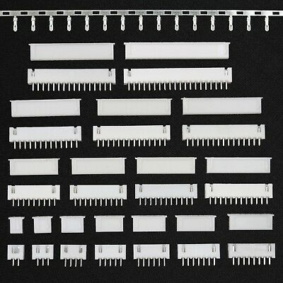XH 2.5mm Connector Sets (2-16, 20 Pin) Housing + Header + Crimps (JST XH Style)