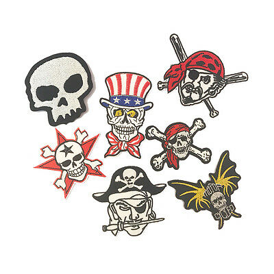 MIX PIRATE Craft Embroidered Patch Sew Iron-On Patch Ready Made New