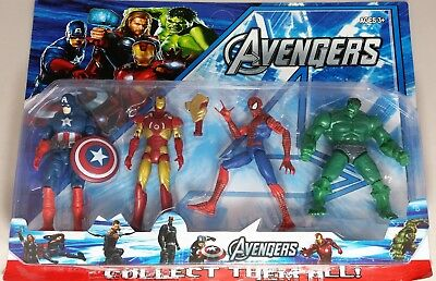 Kids Marvel Avengers Toy Games Model Fun Family Gift Action Figure Collect Boys