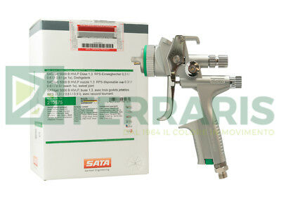 Spray gun SATA Jet 5000 HVLP 1.3 mm for painting body car refinish spraygun auto