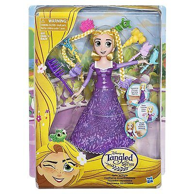Disney Princess Tangled The Series - Spin 'N' Style Rapunzel - Brand New