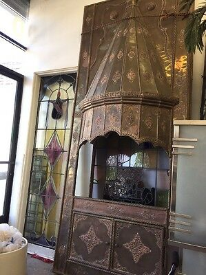 Fairytale Castle Fireplace Metal Detailed Decorative Fireplace Surround