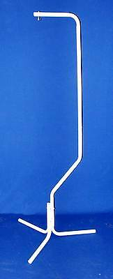 Parrot Bird Hanger Stand With Metal Hook  #4514 White for Bird Cage-688