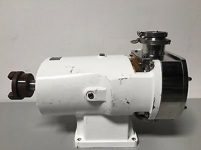 "Alfa Laval SX6 /190 Rotary Lobe Positive Displacement Pump w/ 4"" Inlet / Outlet"
