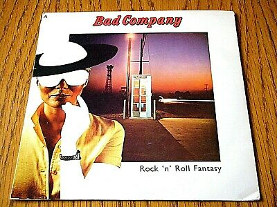 "Bad Company - Rock 'n' Roll Fantasy  7"" Vinyl Ps"