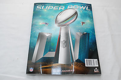 NFL Super Bowl LI (2017) Official Game Day Program Patriots v Falcons