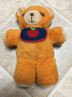 Vintage 1975 Plush Fisher Price Freddy Teddy Bear with Squeaker