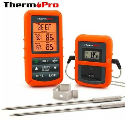 ThermoPro TP20 Wireless Remote Digital Cooking Food Meat Thermometer 300ft Range