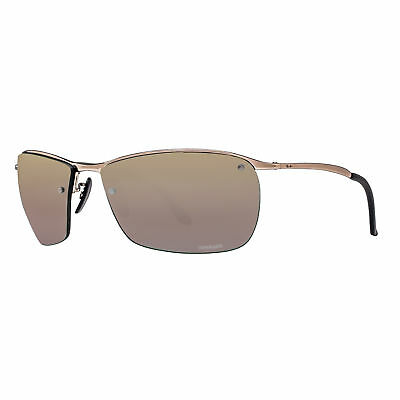 Ray Ban RB3542 197/6B Brown/Purple Mirror Chromance Polarized Sport Sunglasses