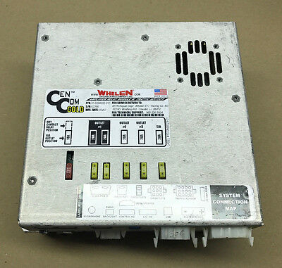 Whelen Cem Com Gold Amplifier Relay Module 01-0284302-01F