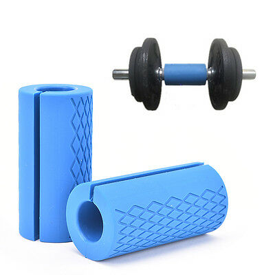 Multifunctional Gym Silicone Dumbbell Barbell Grip Squat Shoulder Barbell ESUS