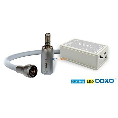 916885b313fc2 COXO C-PUMA INT Dental LED Electric Mini Micro Motor Brushless Built ...