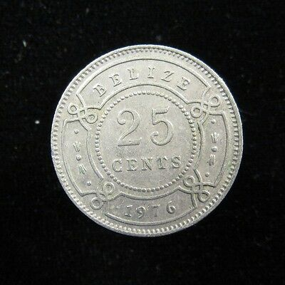 Belize (formerly British Honduras) 25 Cents 1976