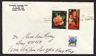 Canada.  to US Postal Cover -21