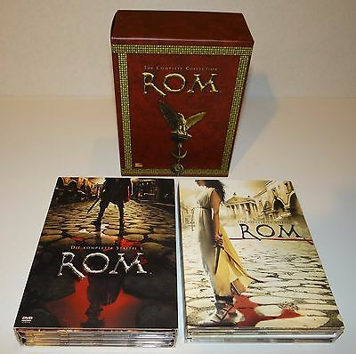 ROM The Complete Collection 11 DVD Box Set Season Staffel 1+2 HBO Region 2 ROME