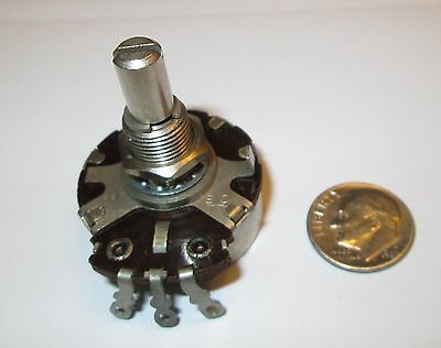 250K Ohm Linear Taper  2 Watt Potentiometer Cts - Usa  1 Pcs.  Nos