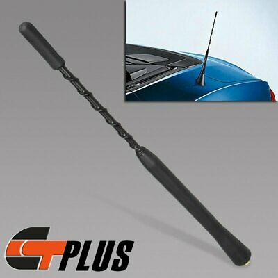 "FOR VW BMW TOYOTA MAZDA SCION SATURN 9/"" STUBBY FUBA ROOF MAST WHIP AM FM ANTENNA"