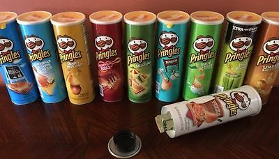 Pringles Can Diversion Safe Secret Stash Box Hidden Compartment Stealth Storage