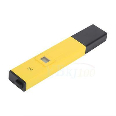 Yellow Electric Professional PH Meter Tester Series Soil Hydroponics Laboratory
