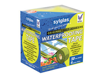 Sylglas Original Waterproofing Tape 50mm x 4m