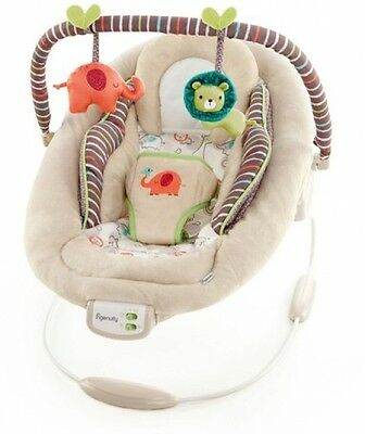 Ingenuity Cozy Kingdom Cradling Portable Baby Bouncer Infant Seat Chair Swing