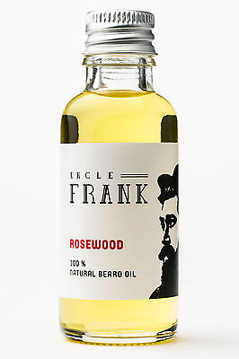 Uncle Frank Natural 100% Beard Oil, Moistures Facial Hair, Great Gift for Man!