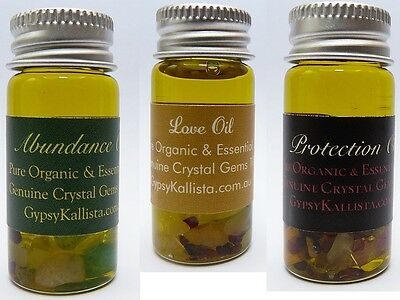 Ritual Spell Crystal Oils Large Pack of 3