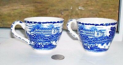 Two Nice Fancy Vintage Coffee Cups